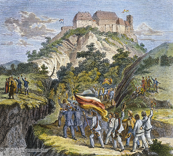 Geschichte / Deutschland / 19. Jh. / Friedrich Wilhelm III.  / Politischer Umbruch / Wartburgfest 1817
