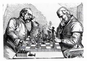 Bismarck und Papst